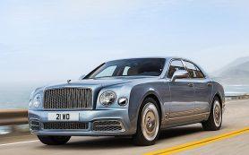 В России начались продажи обновленного Bentley Mulsanne