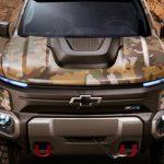 GM рассекретила водородный пикап для армии США