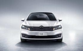 Citroen представил новый большой седан C6