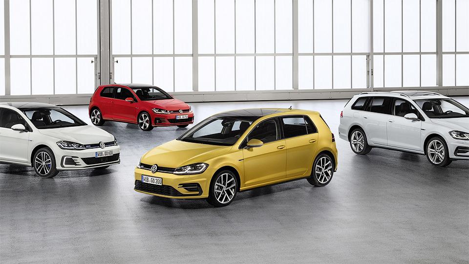 Обновленный VW Golf научили слушаться жестов