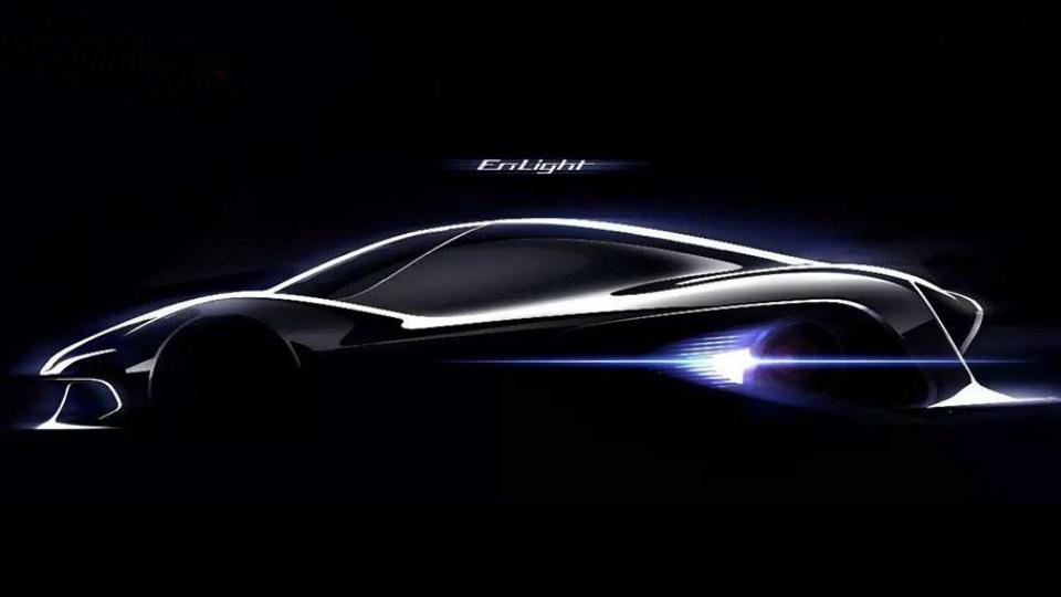 В Китае создадут электрический суперкар с автопилотом