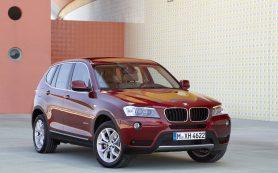 В России отзывают более 30 тысяч BMW X3 и Х4