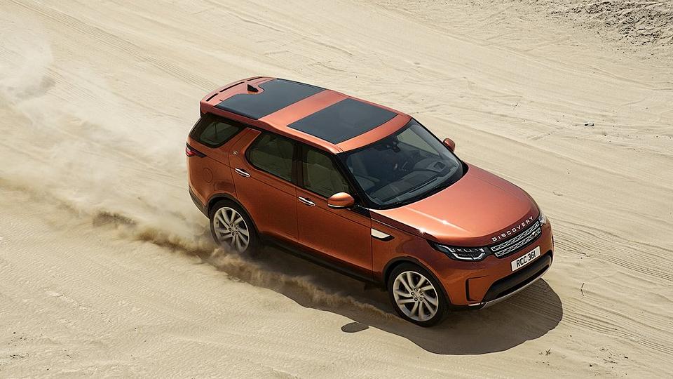 Land Rover назвал рублевые цены на новый Discovery