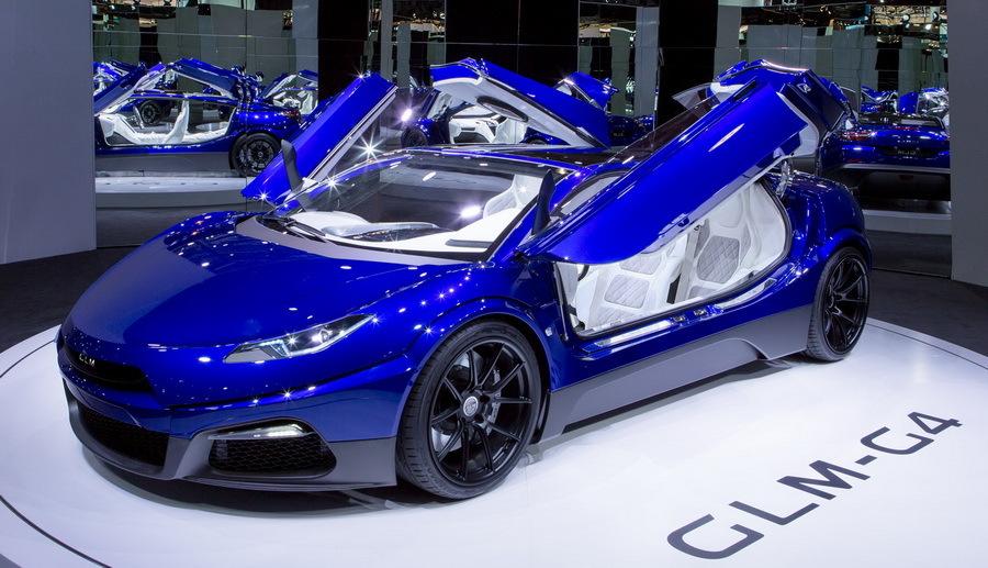 GLM-G4 — 574-сильный японско-голландский суперкар