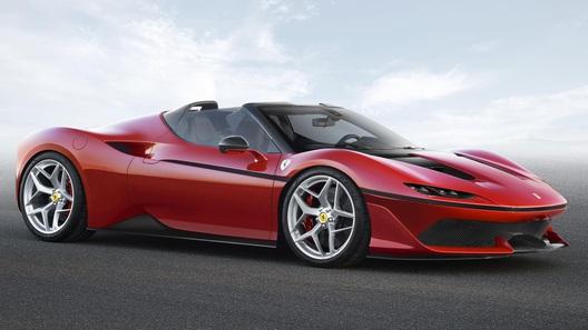 Ferrari выпустила эксклюзивный суперкар в честь очередного юбилея