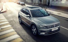 Volkswagen назвал рублевую стоимость нового «Тигуана»