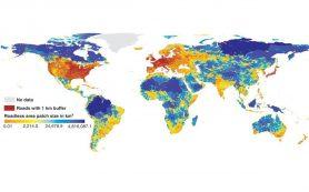 На всемирной карте бездорожья Россия заняла важное место