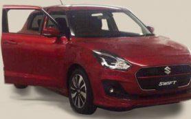 Появились первые «живые» фото нового Suzuki Swift