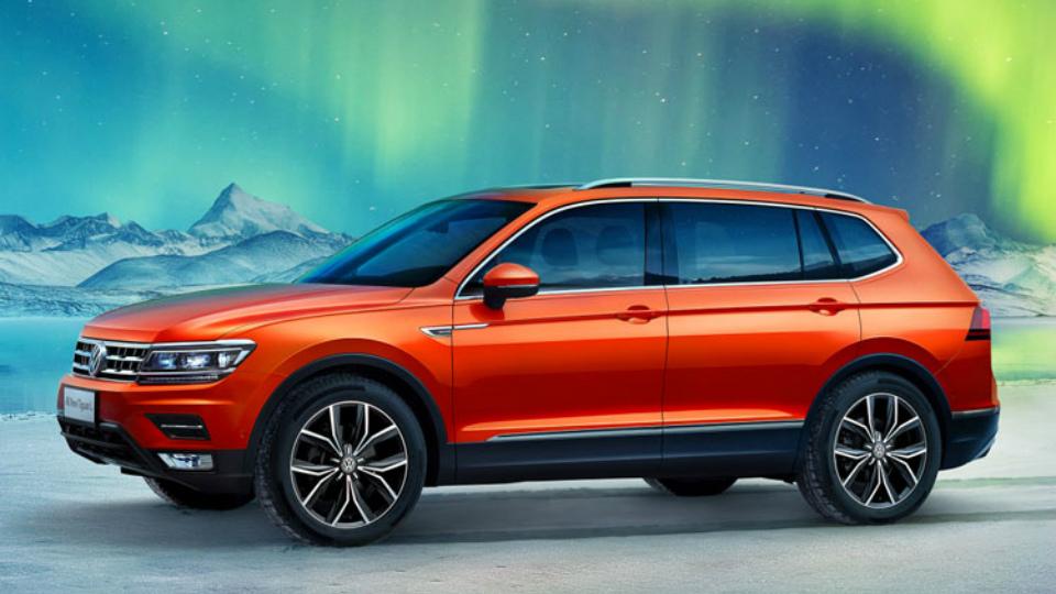 VW привезет в Детройт удлиненный Tiguan для европейцев