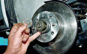 Самостоятельная замена ступичных подшипников заднего колеса на автомобиле ВАЗ-2108