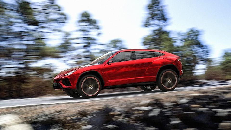Lamborghini сделает кроссовер «подарком на Рождество»