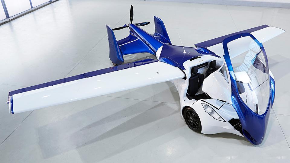 В России разработают летающий автомобиль