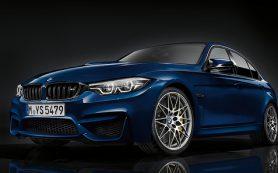 BMW представила обновленный седан М3