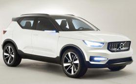 Volvo покажет компактный кроссовер ХС40 через три месяца
