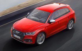 Компания Audi назвала дату появления SQ5 в России