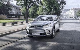 Обновленный Toyota Highlander добрался до России с одним мотором
