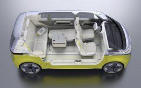 У VW появился электрический компактвэн