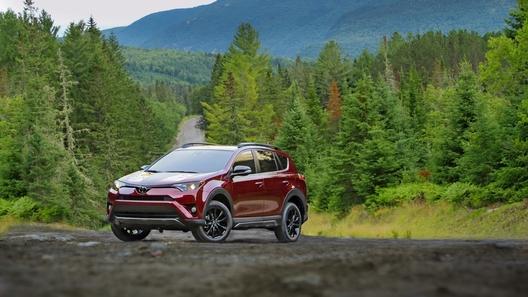 Toyota подготовила кроссовер RAV4 к приключениям