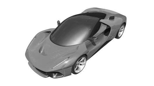 Ferrari запатентовала загадочную супер-новинку