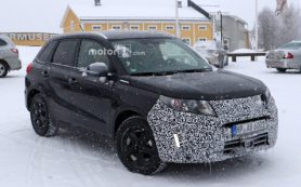 Suzuki Vitara готовится к обновлению
