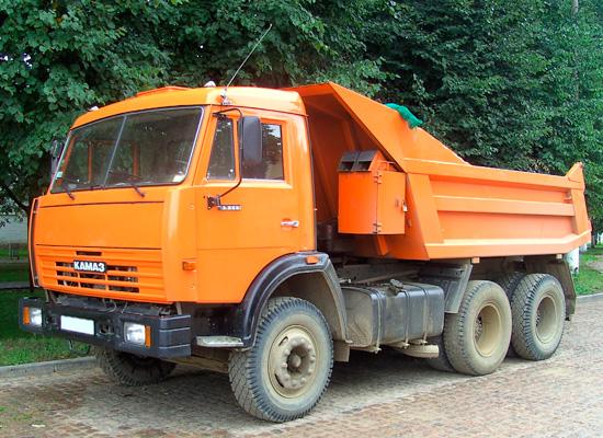 Обзор на самосвал КамАЗ-55111