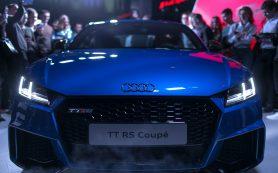 Audi объявила российские цены на самый мощный TT