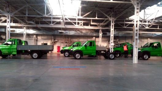 Появились новые фото грузового «УАЗа»
