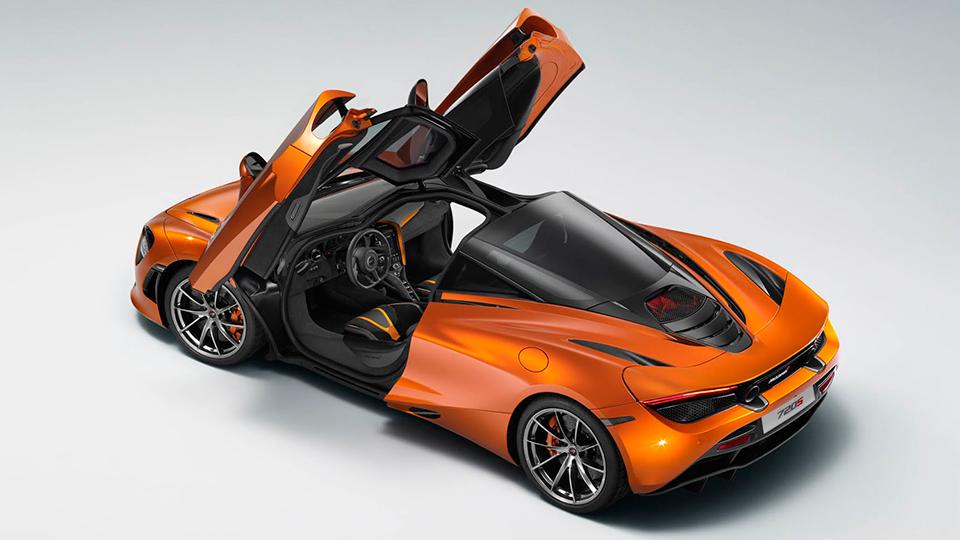 Официальная фотография нового суперкара McLaren попала в Сеть