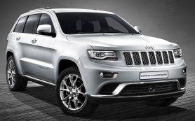 Российские Jeep Grand Cherokee отправят в ремонт из-за козырьков
