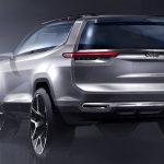 Jeep раскрыл дизайн семиместного гибридного кроссовера