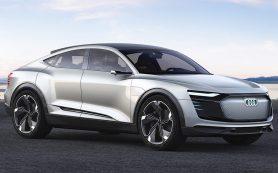 Раскрыт предвестник электрического купе-кроссовера Audi