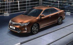 В Россию приехала обновленная Toyota Camry