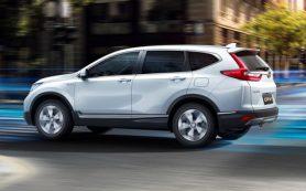 В Шанхае состоялась премьера гибридного Honda CR-V