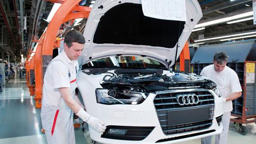 В России могут возобновить выпуск Audi