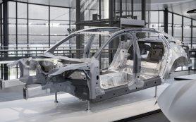 Audi раскрыла подробности о составе кузова новой A8