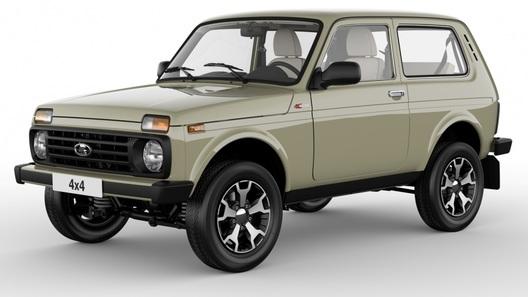 В России начали выпуск юбилейной Lada 4×4 с кожаным салоном
