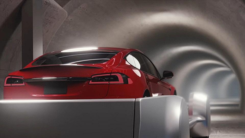 Илон Макс придумал метро для автомобилей