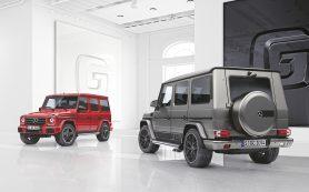 Mercedes представил новые версии Gelandewagen