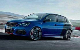 Peugeot случайно показала обновленный хот-хэтч