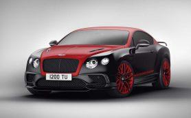 Bentley выпустил особый Continental в честь «24 часов Нюрбургринга»