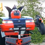 Автомобиль-трансформер из ВАЗ-2110 стал мировой сенсацией