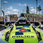 В Великобритании появился первый в мире одноместный полицейский спорткар