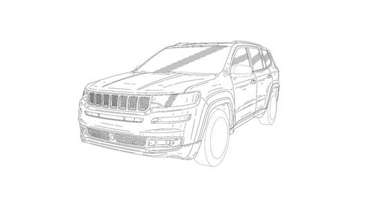 Опубликованы изображения новейшей модели Jeep