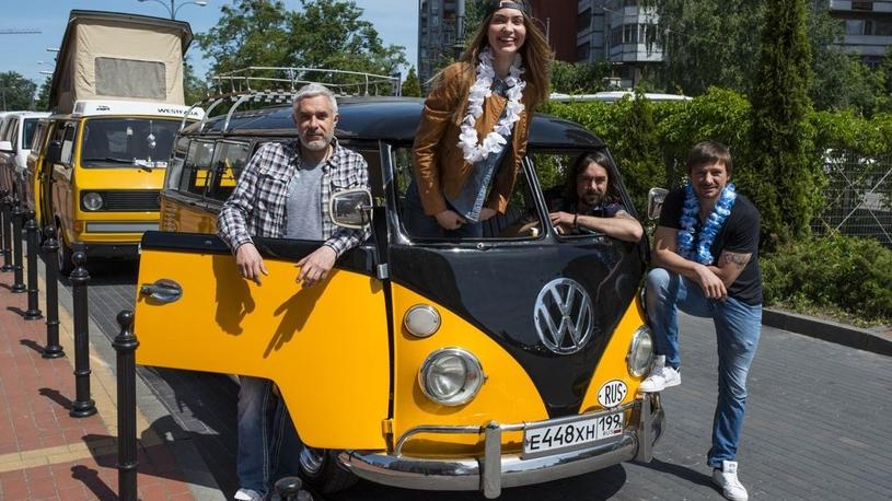 Культовый «Фольксваген» отправился в автопробег от Калининграда до Камчатки