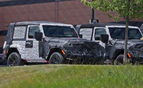 Появились первые фото двухдверного Jeep Wrangler