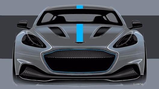 Названы сроки появления первого электрического Aston Martin