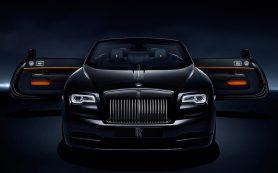 Rolls-Royce сделал очень черный Dawn с форсированным мотором
