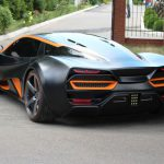 Украинцы придумали электрический суперкар за 700 тысяч евро