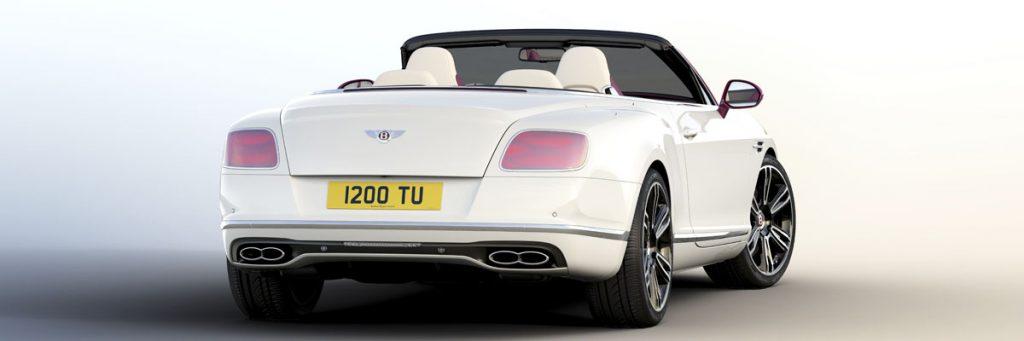 Уникальный кабриолет: Bentley представила спецверсию Continental GT