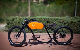Европейцы сделали электрический ретро-велосипед